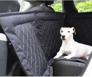 Автогамак для перевозки собак Hunting Pony  |  черный