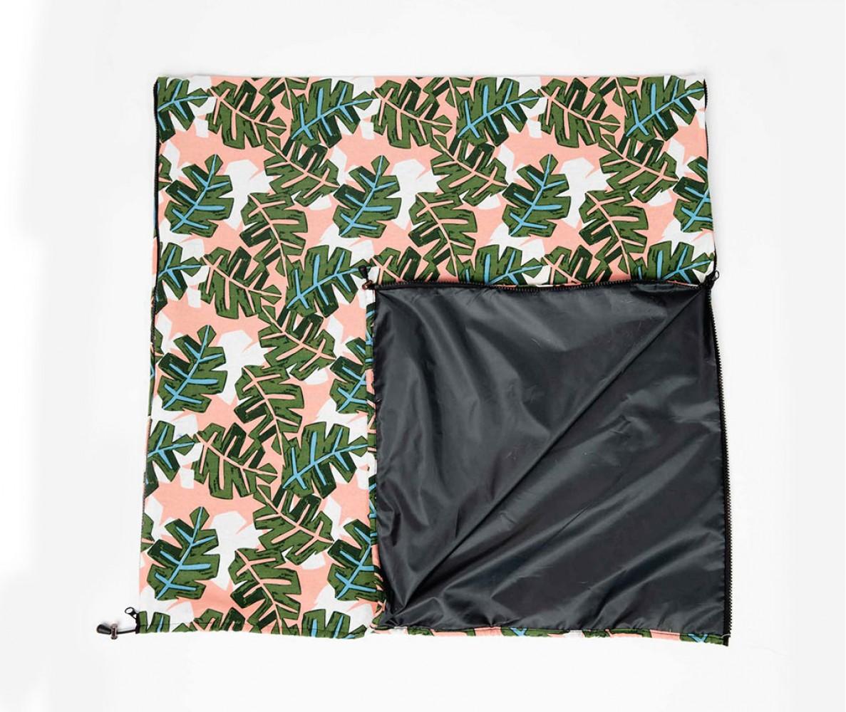 """Переноска коврик для собаки """"Листья"""""""